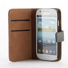 Samsung Galaxy Express i8730 Housse pochette wallet case noir