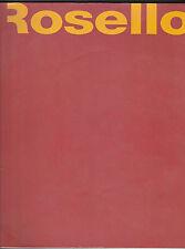 Catalogue ROSELLO- Tables-Chaises-Canapés-Lampes pour Hôtel-Restaurants- Bateaux