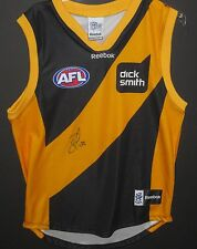 RICHMOND - BEN COUSINS SIGNED JERSEY UNFRAMED + PHOTO PROOF & C.O.A