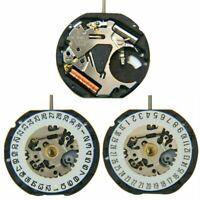 Japanese VX12E Quartz Movement Date At 3' / 6' 3-Pin Watch Replacement + Battery