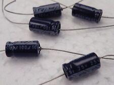 5 pcs Axial Condensateur électrolytique Samhwa 100uF 25 V UK Stock A25-100 CS04