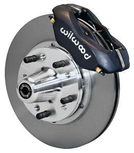 """WILWOOD DISC BRAKE KIT,FRONT,65-72 CDP C-BODY,11"""" ROTORS,CALIPERS,DODGE,PLYMOUTH"""