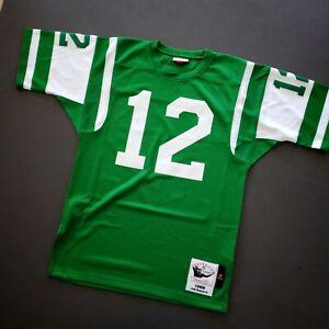 100% Authentic Joe Namath Mitchell & Ness 1968 Jets Jersey Size 40 M Mens