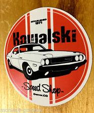 KAWALSKI Camaro V8 V6 Oldschool Sticker USA Aufkleber Chevy Muscle Car Speedshop
