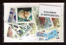 Iles Salomon - Salomon Islands 25 timbres différents