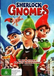 Sherlock Gnomes (DVD, 2018), NEW SEALED AUSTRALIAN RELEASE REGION 4 lot 568