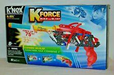 2016 KNEX K-10V Building Set K FORCE Build And Blast  NEW