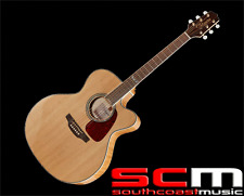 RRP$999 Takamine GJ72CE NAT Jumbo Acoustic Electric Guitar With Pickup Natural