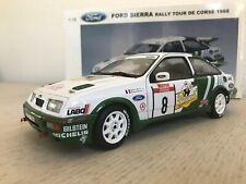 AUTOart 1:18 Ford Sierra Cosworth #8 Rally tour de corse 1988 Auriol Panach