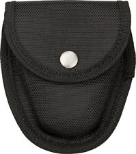 China Made 210980 Handcuff Pouch Black Nylon Belt Pouch W/ Snap Closure Stor