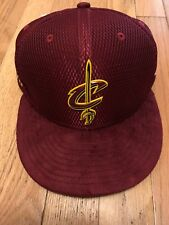 Cleveland Cavaliers Cavs New Era NBA On-Court Collection 2017 Draft Hat Snapback