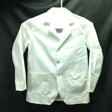 Red Kap Mens Shop/Lab Coat Postman White Size Small