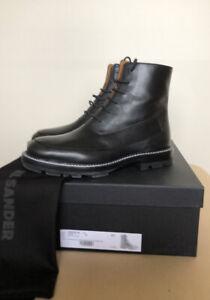 NIB Jil Sander Lace Up Boots. Size 37 EUR.
