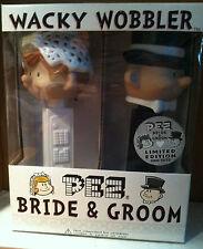 Funko PEZ BRIDE & GROOM Limited Edition 5000 sets Wacky Wobbler NIB