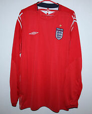 England National Team home shirt 04/06 Umbro Long Sleeves Size XXL