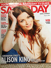SATURDAY Magazine 2016 ALISON KING Kenneth Branagh SOPHIE RAWORTH Russell Howard