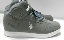U.S. Polo Assn. Men's Casual Athletic High-top ankle suppor-SIZE 10.5/ GRAY