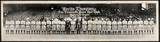 1921 Cleveland Indians Baseball Team World Champions Panoramic Photograph 26""