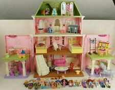 FISHER PRICE LOVING FAMILY GRAND MANSION DOLL HOUSE LOT PEOPLE FURNITURE
