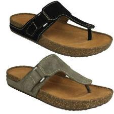 Sandali e scarpe Clarks infradito per il mare da donna 100% pelle