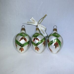 Waterford Christmas Ornament Glass Holiday Heirlooms