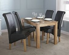 Oak Rectangle Up to 4 Seats Modern Kitchen & Dining Tables