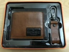 Superdry Super Jackson Wallet And Keyring Gift Set - Tan BNWT