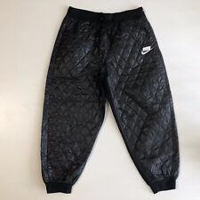 Nike NSW Women's Sportswear Sport Pack Quilted Pants CJ6256-010 Sz L