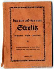 Das alte und das neue Strelitz v. Martin Pfitzner 1938