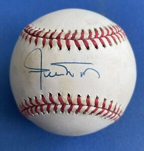 Willie Mays, Autographed Signed Official National League Baseball Giants HOFer!