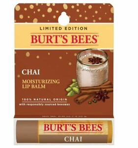 Burt's Bees Moisturizing Lip Balm Chai 4.25g