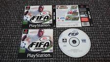 Sony PS1/Playstation 1 FIFA 2000 NO BOX Testato & Lavoro (RS4)