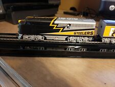Pittsburgh Steelers Train - Bachmann Ho Set - 7 Pieces
