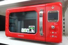 Daewoo KOR7LBKR Red Retro Microwave 800W 20L Eco Zero Standby - COLLECTION ONLY