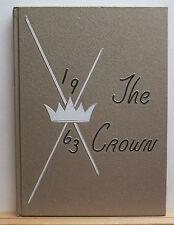 1963 Regina Cleri Seminary Yearbook - The Crown - Tucson Arizona AZ High School