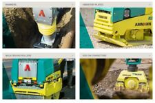 Ammann Wackers, Hammers ,Trench Rollers ,Compactors, Rollers