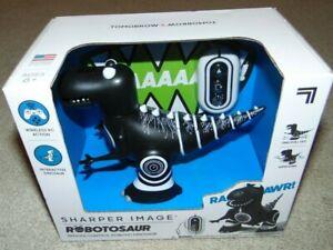 ~NEW Boys SHARPER IMAGE Robotosaur Remote Control Robotic Dinosaur! Nice FS:)~