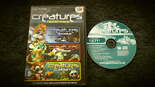 CREATURES COLLECTION TRIPLE PACK PC-CD V.G.C. ( exodus, village & albian games )