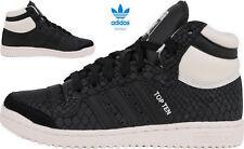 adidas Top Ten Hi W Originals Damen Sneaker Turnschuhe Schwarz S75135
