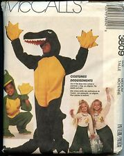 McCall's Sewing Pattern 3809 Costume Alligator Frog Mermaid Adult Medium Uncut