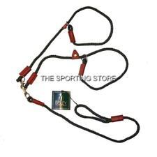 Bisley Double Rope Slip Lead in Olive Green for Dogs Gundogs  BIDLLD