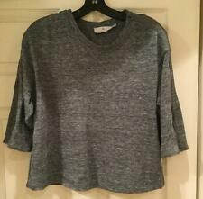 77fe91fbfdf2 Adidas by Stella McCartney Grey Sweatshirt Zipper Detail Size XS