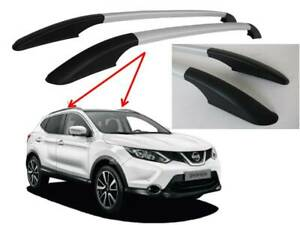 QASHQAI J11 2014+ ROOF RAILS IN SILVER COSMETIC ONLY NON LOAD BEARING - 5023934