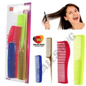 BST COMB SET X 4 GENUINE HAIR STYLE HAIR DRESS GENUINE NEW GIRLS