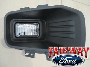 18 thru 20 F-150 OEM Ford Fog Lamp Light w/ Bulb RH Passenger LED