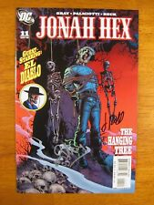 Wow! JONAH HEX #11 **2X SIGNED! JIM PALMIOTTI! JUSTIN GRAY!** COA!