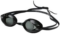 Speedo Vanquisher Optical Competitive Swim Goggle, Smoke -3.00