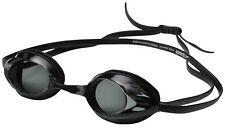 Speedo Vanquisher Optical Competition Swim Swimming Goggles Smoke Diopter -3.0