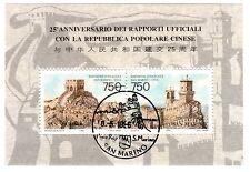 San Marino Block 20 gestempelt