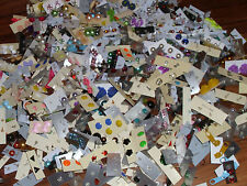 WHOLESALE LOT OF **200 PAIRS ** STUD EARRINGS , ALL NEW , FASHION JEWELRY